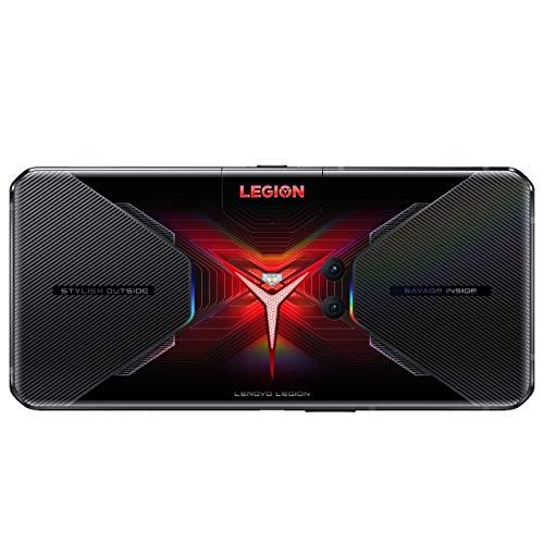 Lenovo Legion Phone Duel- Móvil Gaming 6.65'' FullHD, Snapdragon 865+ 5G, 12GB RAM, 256 GB UFS 3.1, Tarjeta gráfica Qualcomm Adreno 650, Android 10, Negro [Versión ES/PT]