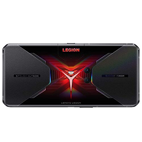 Lenovo Legion Phone Duel- Móvil Gaming 6.65'' FullHD (2340 x 1080), Qualcomm Snapdragon 865+ 5G, 12GB RAM, 256 GB UFS 3.1, Tarjeta gráfica Qualcomm Adreno 650, Carga Rápida, Android 10, Negro
