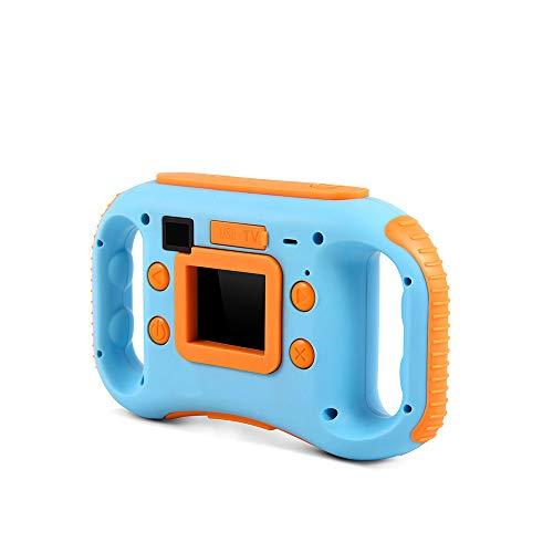 KDOAE Cámara para niños Cámara 1,77 Pulgadas de Pantalla Mini cámara Digital cámara de Niños Juguetes Navidad Cumpleaños (Color : Blue)