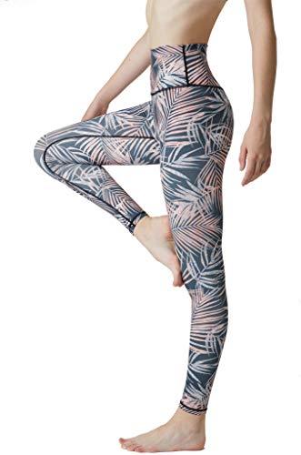 SENXINGYAN Leggings Mujer Cintura Alta Deportes Yoga Largos Elásticos y Transpirables Para Pantalones Gym Fitness de Running Ejercicio Mallas,Negro,L