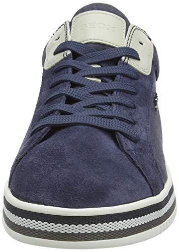 Geox U Eolo A, Zapatillas para Hombre, Azul (Avio C4005), 45 EU