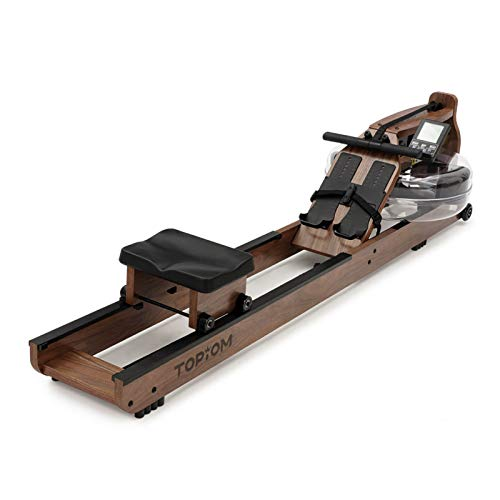 TOPIOM Wooden Rowing Machine