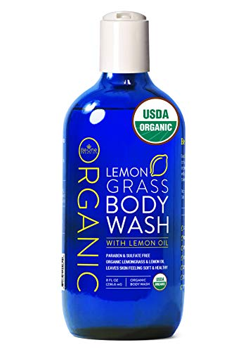 USDA Organic Lemongrass Body Wash by Be-One Organics