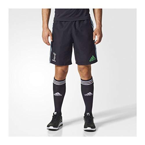 adidas Herren Harlequins Shorts, Black/Froblu/Redbea, 3XL