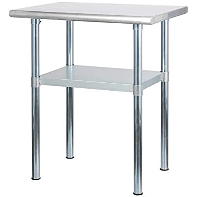 Rockpoint Stainless Steel Commercial Kitchen Table by