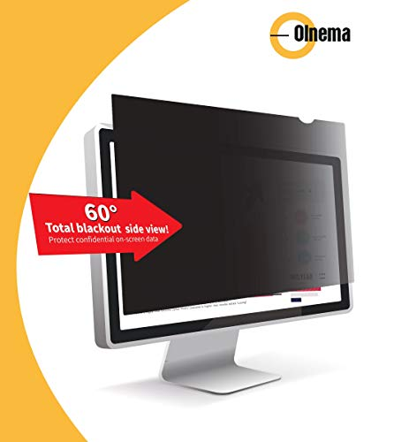 Olnema Computer & PC Monitor Privacy Screen Filter I Privacy Protection Film I Desktop Anti-Spy Film breedbeeld, 27.0
