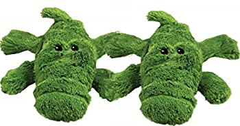 KONG Cozie Plush Toy - Small Aligator Dog Toy Small - Aligator Dog Toy - Pack of 2