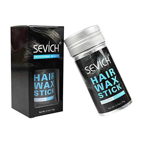 Premium Styling Wax Hair Wax Stick Soft Hydratant Hairstyle Finishing Gel Moisturizing Flake Free Non Greasy Strong Hold Texture Creates Stick For Unisex