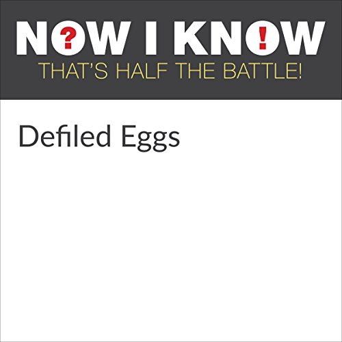 Diseño de la portada del título Defiled Eggs