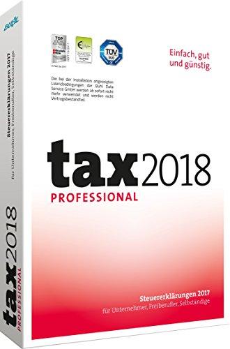 tax 2018 Professional (für Steuerjahr 2017) (Buhl Finance)