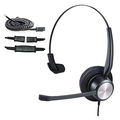 Cisco Phone Headset Corded RJ9 Telephone Headset with Noise Cancelling Microphone for Cisco CP-7821 7841 7942G 7931G 7940 7941G 7945G 7960 7961G 7962G 7965G 7970 7971 7975G 8811 8841 8861 9951 etc …