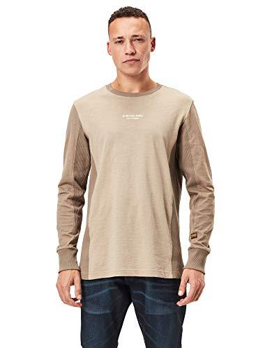 G-STAR RAW Motac Logo Camiseta, Lt Rock B255-3000, XL para Hombre