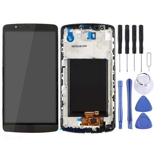 ASAMOAH Pantalla LCD de reemplazo de teléfono Celular Pantalla LCD + Panel Táctil con Marco para LG G3 / D850 / D851 / D855 / VS985