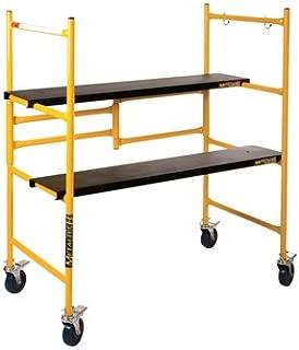 Metaltech Mini Folding Steel Scaffold - 500Lb. Capacity, 39in.W x 21 1/2in.D x 46in.H, Model# I-IMCN