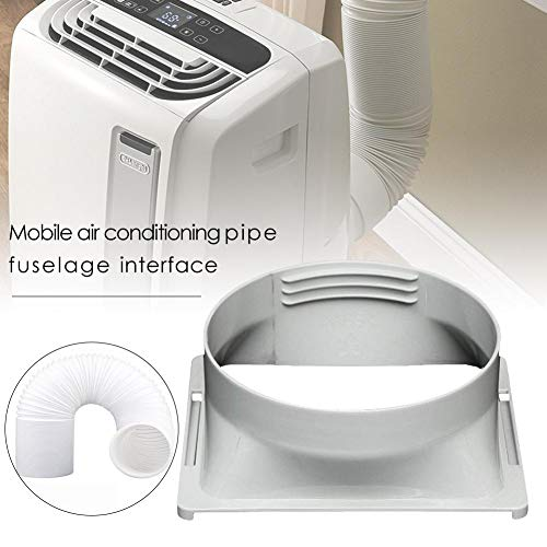 dream-cool Connettore Dell'adattatore del Tubo di Scarico Commerciale 15CM per Condizionatori d'Aria Portatili Interfaccia Quadrata Dell'ugello Piatto del Tubo di Scarico dell'Aria Wonderful