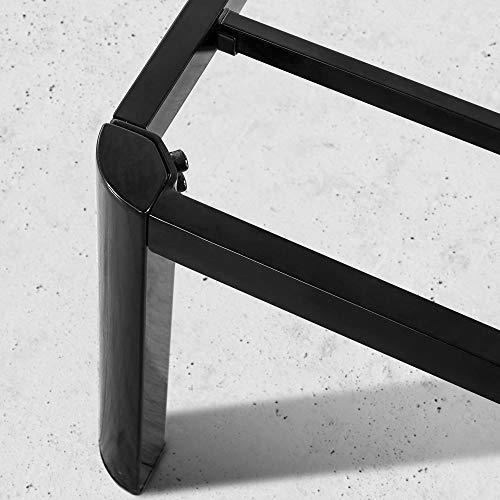 Zinus Van 16 Inch Metal Platform Bed Frame with Steel Slat Support / Mattress Foundation, King