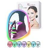 7 Farben LED Beauty Photonentherapie Maske, Beautlinks...