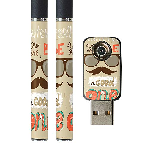 igsticker プルームテック Ploom TECH 専用スキンシール バッテリー スティック USB充電器 カバー ケース 保護 フィルム ステッカー スマコレ 006611 その他 眼鏡 英語 文字