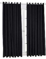 ستائر عاتمة عازلة للحرارة لغرف المعيشة من ديكديل قياس 55× 96 انش