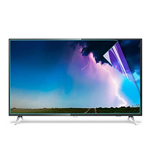ALGWXQ Anti Glare Tv Screen Protector Anti Blue Light Anti Radiation, Prevent Myopia for All Brand TV Size (Color : HD version, Size : 70 inch 1538X869mm)