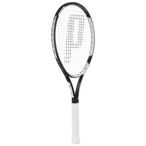 Prince Tennisschläger Ex03Warrior Lite Tennisschläger, Herren, Schwarz, Weiß, silberfarben