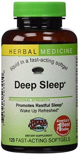 Herbs Etc. Deep Sleep 120 Softgels (Pack of 2)