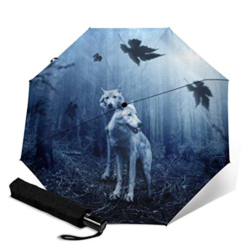 Tres plegable paraguas automático mujeres auto marino animal a prueba de viento paraguas hombres marco impermeable resistente al viento YSA1067