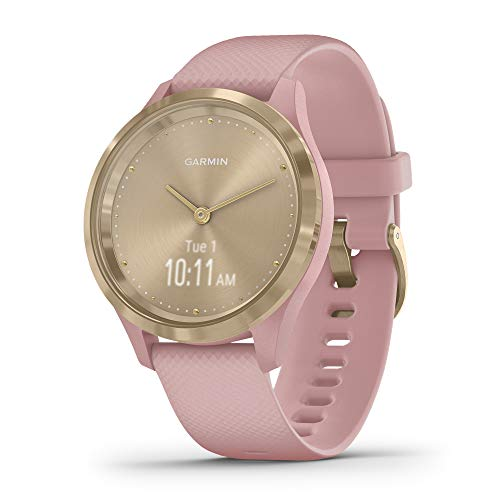 Garmin Vívomove 3S Sport - Reloj inteligente, color light gold y rosa