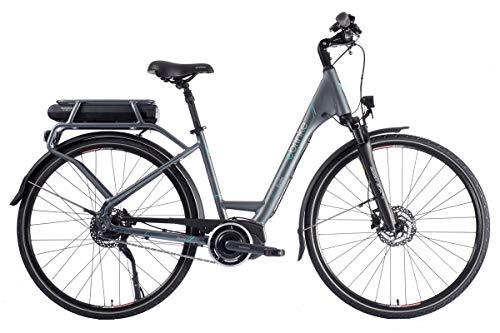 Brinke Bicicletta Elettrica Elysee 2 DI2 Cambio Automatico (Grigio, L)