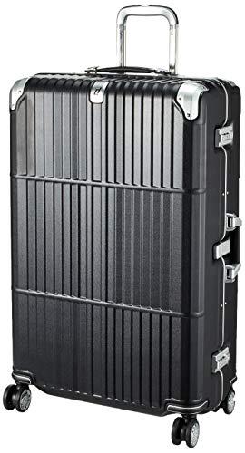 [エー・エル・アイ] スーツケース departure ハードキャリー 保証付 95L 5.8kg レザーマットブラック