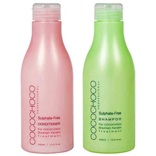 COCOCHOCO Professional Set Nach der Pflege - Sulfatfreies Shampoo 400 ml und Sulfatfreies Konditioner 400 ml