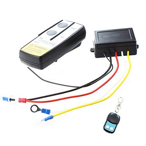 Facibom - Kit de mando a distancia para camión ATV Winch (12 V, 12 V)