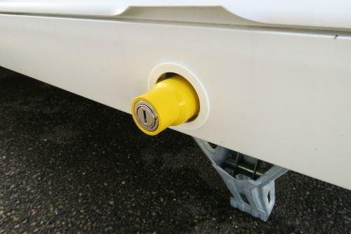 Milenco Leg Nut Locks