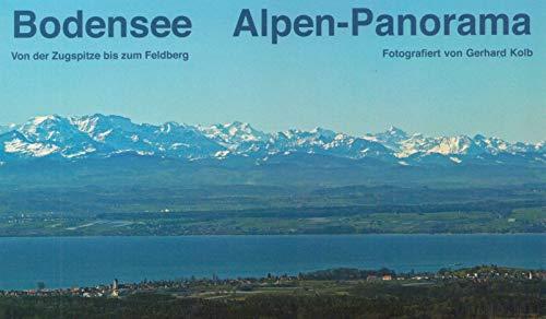 Bodensee Alpen-Panorama - Von der Zugspitze bis zum Feldberg (Leporello)
