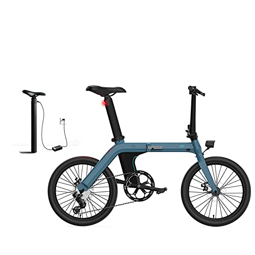 FIIDO Bicicleta eléctrica plegable D11, 20 pulgadas,...
