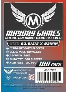 Mayday Games Custom Police Precinct Game Sleeves