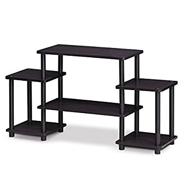 Furinno 11257DWN Turn-N-Tube No Tools Entertainment Center