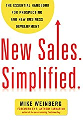 New Sales Simplified: Book to read for mastering sales and close leads from Mike Weinberg