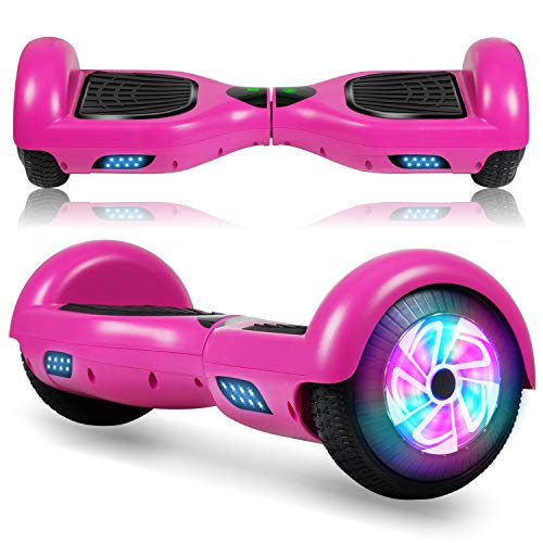 FLYING-ANT Hoverboard, 6.5 Inch Self Balancing Hoverboards with LED Lights,...