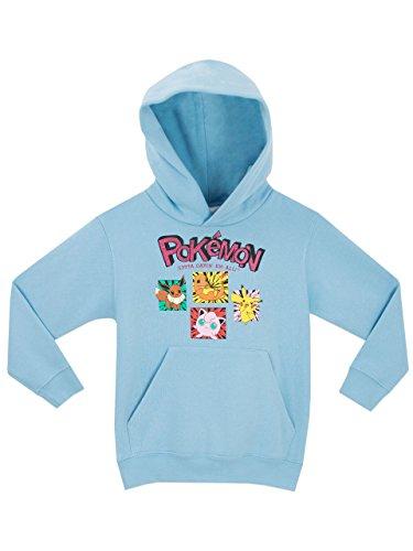 Pokemon Pokemon Mädchen Pokemon Sweatshirt, Gr.-116 (Herstellergröße: 5 - 6 Jahre),Blau