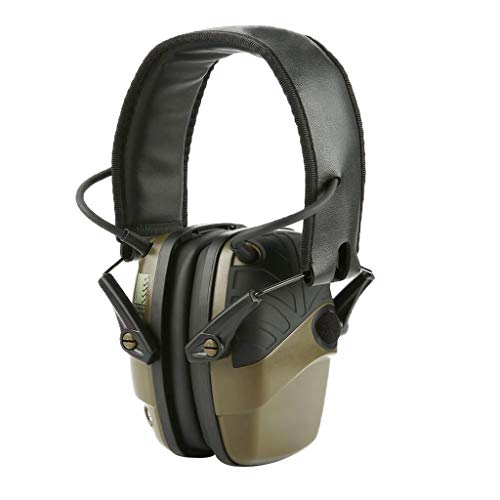 Milageto Electronic Shooting Earmuff, NRR 22 dB Noise Reduction Sound...
