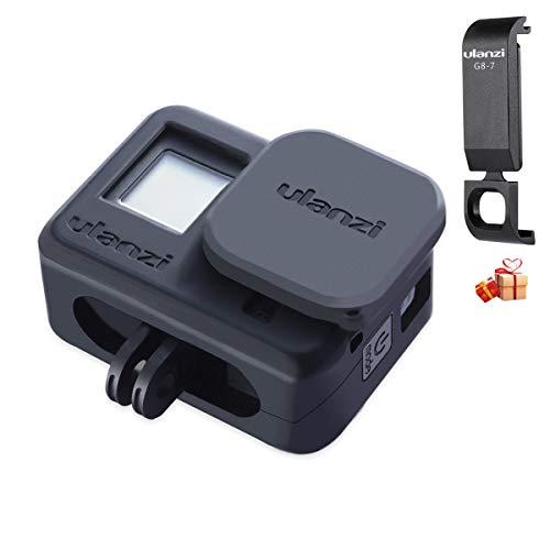 Jaula de Silicona Ulanzi G8-3 y Tapa de batería para GoPro 8