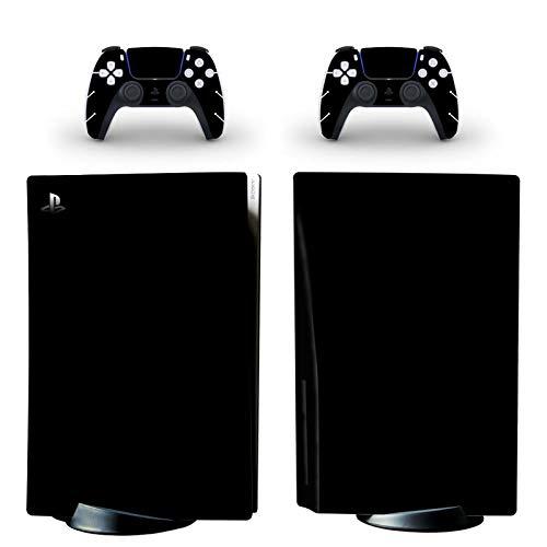 Protezioni per mascherine della pelle PS5 per il colore Questo adesivo in PVC è utilizzato per proteggere la console del disco della Playstation 5 e le superfici dei 2 controller