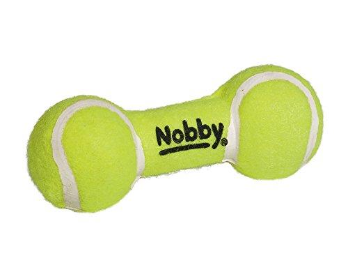 Nobby Tennis Hantel mit Squeaker 13,5 cm