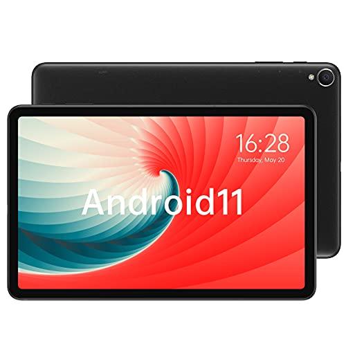 ALLDOCUBE iPlay40H タブレット PC,10.4インチ 2K FHD IPSディスプレイ,Android11,8GB RAM/128GB ROM (最大2TBの拡張),8コアCPU,4G LTE SIM タブレットPC,2.4G/5G WiFi,GMS認証 (black)