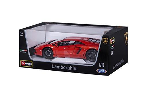 Bburago Maisto France - 11033 - Lamborghini Aventador LP 700 - Échelle 1/18 - Couleur aléatoire