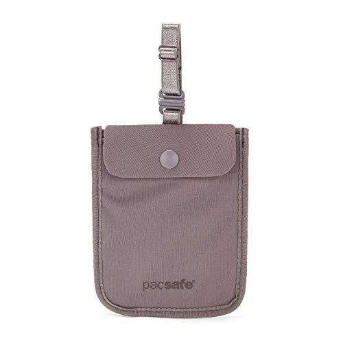 Pacsafe Coversafe S25Diebstahlschutz Brustbeutel zur Befestung am BH, Farbe: Mauve Shadow 10121330