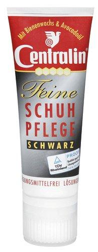 Centralin feine Schuhpflege schwarz, 3er Pack (3 x 75 ml)