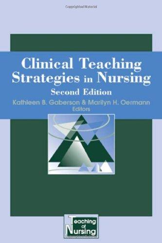 41qsrzJymQL - Clinical Teaching Strategies for Nursing (Springer Series on the Teaching of Nursing)