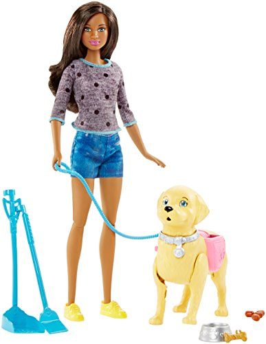 Barbie Muñeca Walk and Potty Pup con muñeca